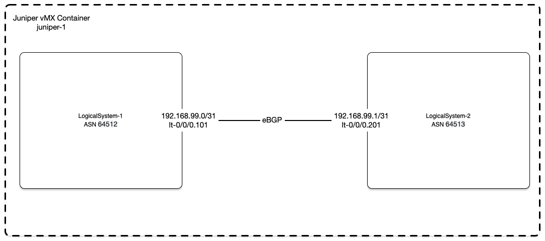 BGP Network Topology